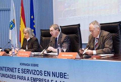 Inauguración  - Xornadas sobre internet e servizos en nube: Retos e oportunidades para a empresa e a administración